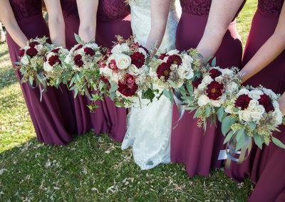 Bride and Bridesmaids's Flowers 3